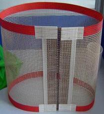 专业生产食品级铁氟龙网格输送带