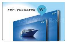 北京供应DID60英寸超窄边液晶拼接屏-双边拼缝6mm