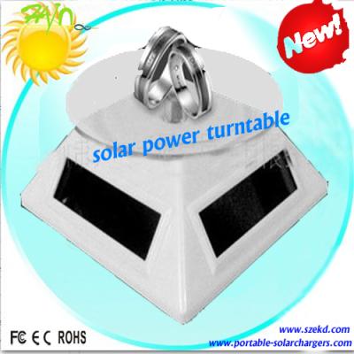 太阳能动力转动展示台 无源动力展架
