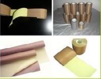 厂家生产供应带离型纸或不带离型纸咖啡色铁氟龙胶带