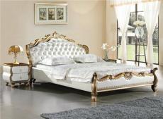 圣米嵐855B 2011夏季新款豪華歐式雕刻環保皮軟體床