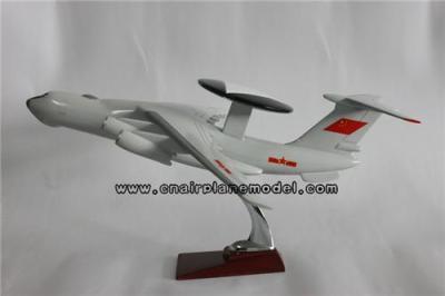 树脂飞机模型预警机模型 空警2000航空模型47CM