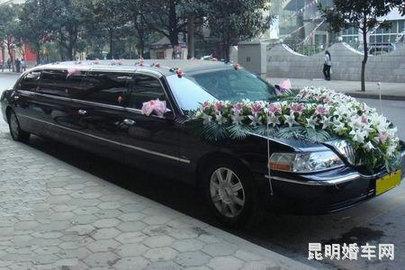 昆明米莱加长林肯等高档轿车婚车租赁图片