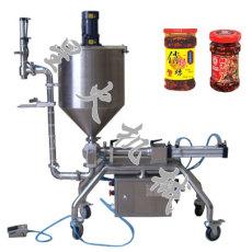 辣椒酱灌装机 牛肉酱灌装机 颗粒浆状灌装机