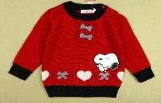 供應史努比GS0822女童毛衣