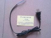 国标AC两扁插电源线插头 0.3平方 可定制加工