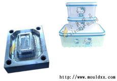 订制保鲜盒塑料模具