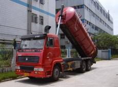 全國最早專業開發生產--污泥運輸車 李先生