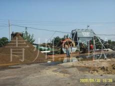 螺旋洗沙機 輪式洗沙機 挖斗洗沙機-青州三聯重工