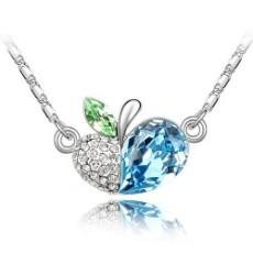 水晶饰品批发-奥地利时尚清新秀丽水晶项链--蔷薇果