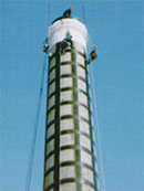 杭州市专业 烟囱加固o5l5-8829o222烟囱加高 工程公司