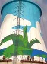 杭州市专业 烟囱装饰o5l5-8829o222烟囱美化 工程公司