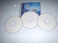 可打印CD-R 空白CD光盤 白盤可打印 100片吸塑廠家