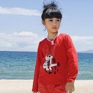 貝貝音品牌童裝秋季新款純棉女童T恤 廠家直銷