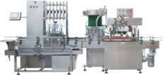 南宁指甲油灌装旋盖机/广西星火直线式重力自流式灌装机