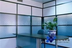 成都玻璃隔断优沃隔断系统单层钢化玻璃隔断 磨砂玻璃