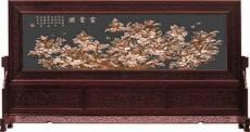 供應銅工藝品 紅木屏風 紫銅浮雕定做 紫銅壁畫定做