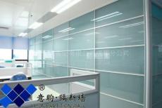 成都玻璃隔断优沃隔断系统单层钢化玻璃隔断磨砂玻璃