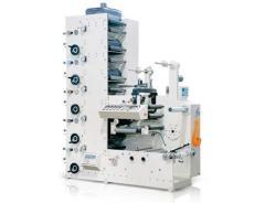 六色卷筒紙柔版印刷機