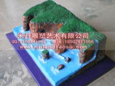 供應地理模型 海岸地貌模型 火山地貌模型
