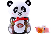 優酪果凍 熊貓