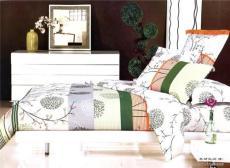 浙江供應床上用品 全棉斜紋涂料印花四件套