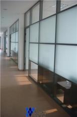 供应成都玻璃隔断优沃隔断双玻+百叶系列