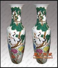 供應陶瓷大花瓶 落地擺設大花瓶 商業禮品陶瓷大花瓶