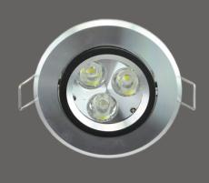 南昌LED天花灯 LED射灯哪里便宜 3W 天花灯LED批发
