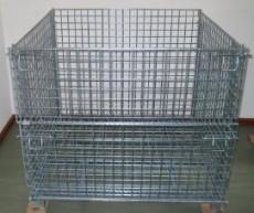 金属周转箱 折叠式仓储笼 周转筐 仓库笼 折叠笼