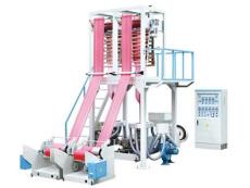 購買塑料吹膜機 雙機頭吹膜機組首選河北富達機械