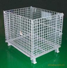 安平县璐锋金属丝网厂 金属折叠式仓储笼 金属周转箱