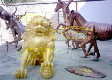玻璃钢狮子 GRC水泥狮子 狮子模具 树脂狮子
