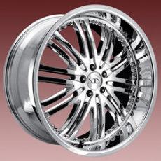 美国XIX 20x10黑色豪华版铝合金轮毂XIX03 BLACK轮圈
