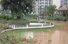重庆护栏G 重庆草坪护栏 重庆塑钢护栏 重庆PVC护栏