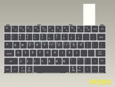 10寸筆記本鍵盤