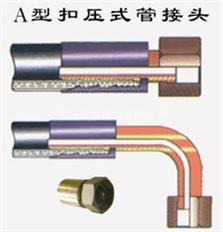鼎力低价供应优质扣压式胶管接头