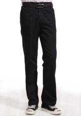 纯棉斜纹深蓝裤子WK502-005