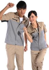 涤棉斜纹铁灰裤子WK501-008