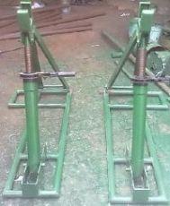電力施工用 錦州線纜放線器 鋼絲繩放線支架 制造商