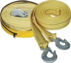 汽車用品4T汽車拖鉤拖車繩拖車帶牽引繩牽引帶鋼絲繩