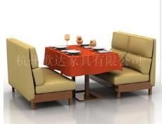 杭州咖啡廳沙發定做/茶餐廳沙發定做