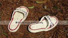双层草鞋 纯手工编织生态环保居家拖鞋 厂家批发