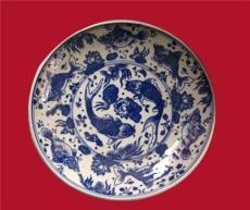景德镇陶瓷礼品瓷盘 装饰盘 年年有余挂盘