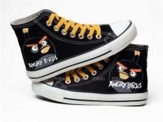繪寶手繪鞋 涂鴉帆布鞋