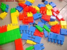 东营幼儿园拼插积木 儿童欢乐大积木 海绵积木