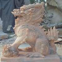 石雕麒麟出售價格