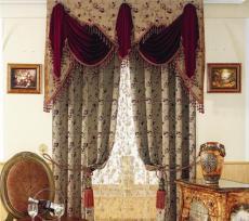 罗绮窗帘 窗帘合作 窗帘供应 布艺窗帘