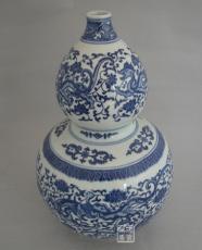 景德镇精品青花葫芦瓶 礼品瓷瓶 装饰品瓷瓶