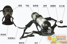 正压式空气呼吸器 空气呼吸器使用方法空气